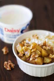 Cottage Cheese Dishes by Healthy Warm Cinnamon Apple Mess Apple Of My Eye