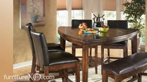 Ashley Furniture Dining Room Larchmont Counter Height Casual Dining Set By Signature Design By