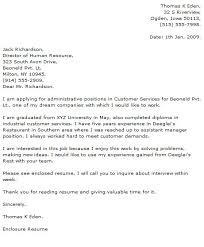 Resume Cover Letter Sample For Customer Service by Amazing Looking For Customer Service Cover Letter Template