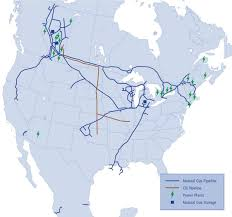 Keystone Xl Pipeline Map Kinder Morgan Inc Your Pipeline For Gas Seeking Alpha