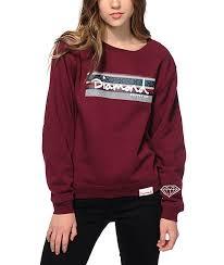 supply co sweaters supply co fair isle box crew neck sweatshirt zumiez
