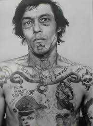 8 best russian prison tattoos images on pinterest russian prison