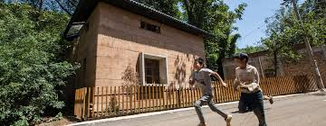 Building House Earthquake Prototype House Crowned World Building Of The Year 2017