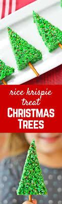 easy tree rice krispie treats cooks