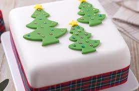 40 christmas cake ideas three trees christmas cake goodtoknow