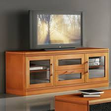 70 Inch Console Table Transitional 70 Inch Tv Stand Tv Console In Light Cherry Finish Fow