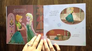 frozen fever aloud story book children kids