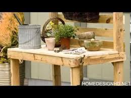 Garden Potting Bench Ideas 25 Cool Diy Garden Potting Table Ideas