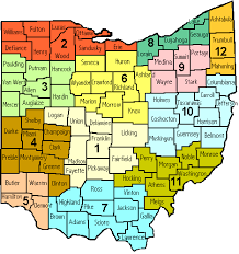 map of ohio map of edrs