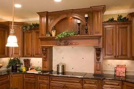Kitchen Cabinet Displays For Sale Wood Range Hood With Display Niche