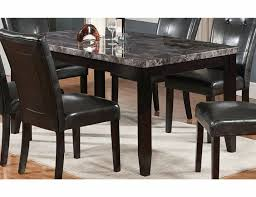 rectangle table and chairs dining room the brick dining room sets marble table set with top