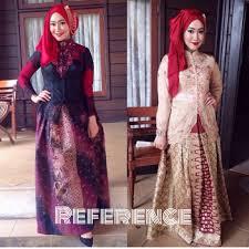 model baju kebaya muslim 45 gambar model kebaya muslim modern dan terbaru gaun