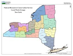 Map Of Albany New York by Local Work Groups Nrcs New York