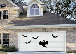 halloween garage door decorations ideas diy halloween garage door