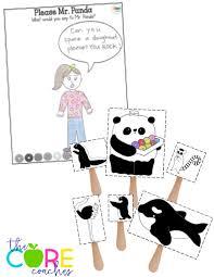speech bubble activity please mr panda interactive read aloud for grades k 1
