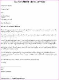 company offer letter template offer letter template designproposalexample com