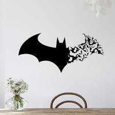 Batman Home Decor Aliexpress Com Buy Creative Hero Batman Graphic Removable Cute
