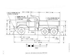 figure 2 23 side elevation of truck dump wown m817