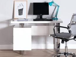 bureau 100 cm bureau 100 cm fabulous bureau design bois laqu pitement mtal chrom