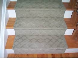 decorations plain gray carpet runner with pattern for modern