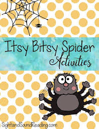 itsy bitsy spider activities free printable activities