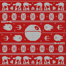 wars wrapping paper imperial walker washcloth strikkelysten