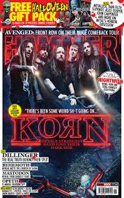 korn metallica slipknot and more in the metal hammer halloween