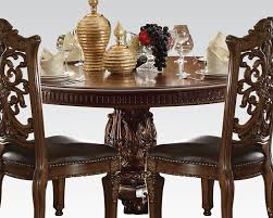 cherry dining room set cherry dining set vendome by acme furniture ac62015set
