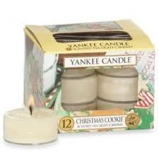 christmas cookie tea light candle store yankee candle italia
