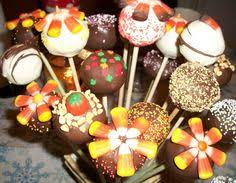 miniature nature inspired desserts thanksgiving treats cake pop
