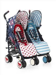 Twlin Sis Cosatto Supa Dupa Twin Stroller Sis And Bro 4 Medium Amazon Co