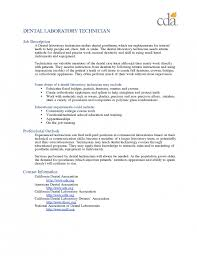 Sample Dental Resume by The Amazing Dental Lab Technician Resume Resume Format Web