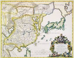 Map Of Eastern Asia by A 1682 Italian Map Of East Asia Including Discoveries Made By