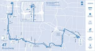 Cleveland Rta Map 47 Broadway Routes Ride Kc