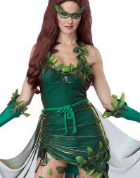 Xl Womens Halloween Costumes Posion Ivy Mother Nature Lethal Beauty Womens Halloween
