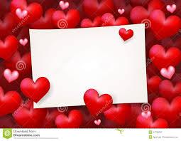 blank wedding invitation card love letter stock vector image