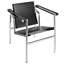 Conference Room Chairs Leather Lc1 Sling Chair Metal Frame Design Le Corbusier Pierre