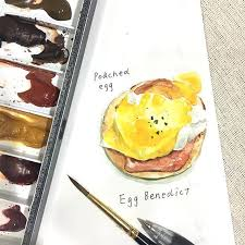 1632 best water colors images on pinterest food drawing food