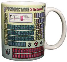 Periodic Table Mug Coffee Mug Art Wildlife Birds Reptiles Butterflies Insects