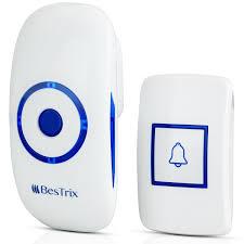 wireless doorbell system with light indicator bestrix smart wireless doorbell with receiver operating over 1000