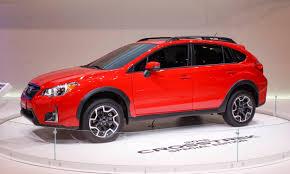 subaru crosstrek 2016 red 2016 chicago auto show the cars autonxt