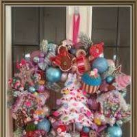 candyland ornaments decore