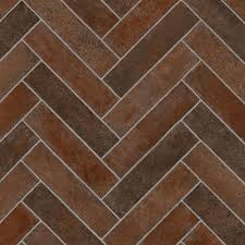 Kitchen Vinyl Flooring by Trafficmaster Brick Terra Cotta 12 Ft Wide X Your Choice Length