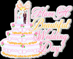 Beautiful Marriage Wishes Wedding Facebook Graphic Have A Beautiful Wedding Day