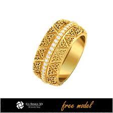 model wedding ring 3d cad unique celtic wedding ring free 3d model