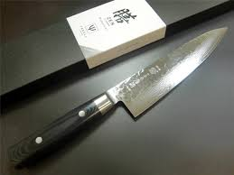 Kai Kitchen Knives by Japanese Yaxell Zen 37 Layers Vg 10 Damascus Kitchen Knife Chef