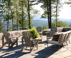 Mountain Outdoor Furniture - mountain home with great views traditional home