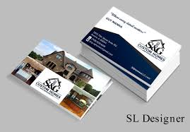 Custom Home Design Questionnaire Upmarket Professional Business Card Design For Leah Malinowski By