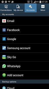 android settings setting up ekmmail for android phone ekm support centre
