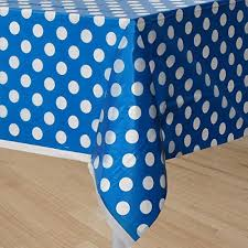 table covers for party my party suppliers lime royal blue polka dot plastic table cloth